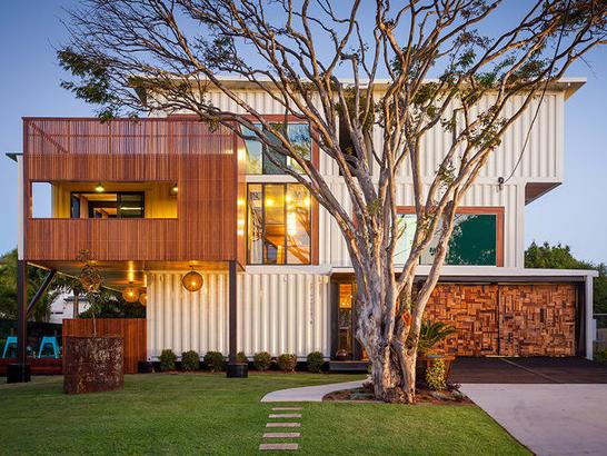 コンテナを再利用した住宅のデザインが凄い!内装デザインも参考になる!